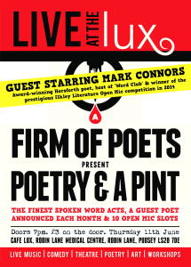 poetry and a pint