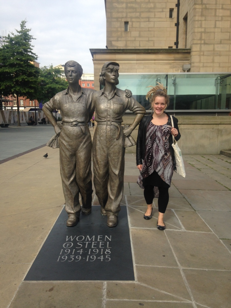 women-of-steel-sheffield-full-length